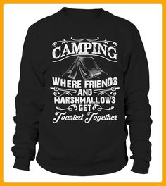 Camping toasted together T Shirt - Camping shirts (*Partner-Link)