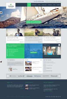 Tisson Premium WordPress Theme