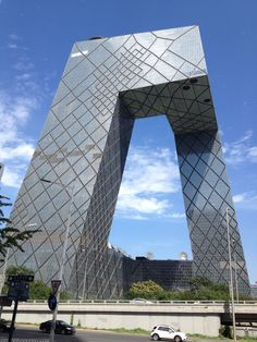 CCTV building in Beijing. Picture from my Web site Discover Asia.