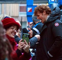 Behind the Scenes Photos of Sam and Caitriona Filming 'Outlander' in Edinburgh, Scotland (Day Three) | Outlander TV News