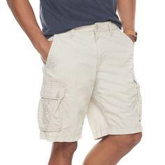 Men's SONOMA Goods for Life™ Modern-Fit Lightweight Twill Cargo Shorts, Lt Beige