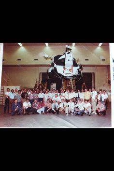 PEACE, The Final Frontier,Grumman Aerospace photo L.I. NY-sven vik