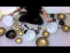 Tibetan and Crystal Singing Bowl Meditation - YouTube
