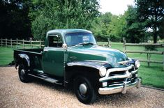 Explore Jim Carter's entire catalog of classic Chevy and GM truck parts, 1934 - Chevrolet 3100, Chevrolet Trucks, Pickup Car, Pickup Trucks, Gm Trucks, Cool Trucks, 1954 Chevy Truck, Chevy Models, Truck Paint