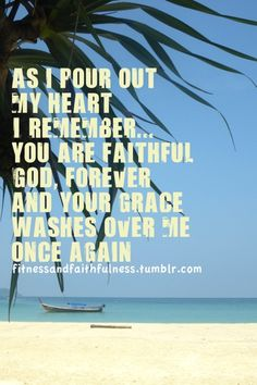Your Grace Washes over me