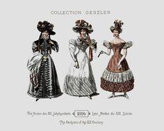 1826 - Collection Geszler ; Die Moden des XIX. Jahrhunderts / Les Modes du XIX. Siècle / The fashions of the XIX. Century