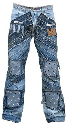 Fall Fashion Outfits, Swag Outfits, Denim Fashion, Fashion Pants, Diy Clothes Jeans, Diy Jeans, Vetement Hip Hop, Harley Davidson, Denim Ideas