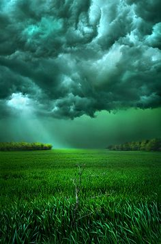 ~~There Came a Wind | storm clouds over a meadow, Caledonia, Wisconsin | by Phil Koch~~