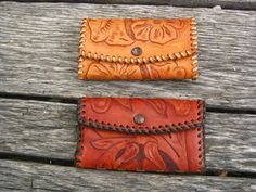 Cute tooled leather!