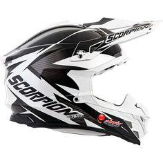 Dirt Bike Scorpion VX-35 Krush Helmet | MotoSport