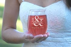 6 Bridesmaid Gifts, Stemless Wine Glass, Bridal Party Gift, Engraved Wine Glasses Personalized Bridesmaid Gifts, Wine Tumblers Maid of Honor Wine Wedding Favors, Wedding Toasting Glasses, Gifts For Wedding Party, Party Gifts, Wedding Ideas, Wedding Inspiration, Asking Bridesmaids, Will You Be My Bridesmaid, Bridal Shower Wine