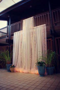 Intimate Backyard Outdoor Wedding Ideas #WeddingIdeasChurch