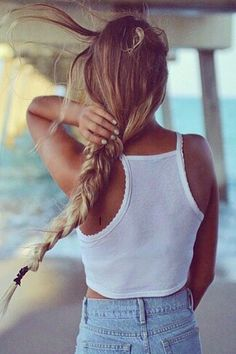 Cali Beach Hair! Get it now with REMY CLIPS of California. Custom made clip-in, halo, and single weft hair extensions. www.remyclips.com