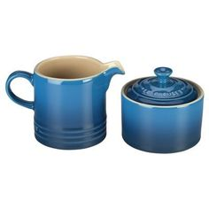Cream & Sugar Set Marseille by Le Creuset #Brunch