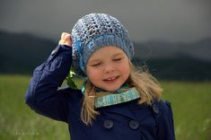 Crochet spring slouchy hat for girls and woman women in child and teen/adult size