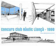 Llança nautic club. Q d'ARQUITECTURA. Miquel Turne / Jordi Grane Telf: +34 654.065.999 www.qdarquitectura.com