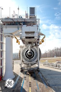 Time for some testing at our jet engine testing facility in Peebles, OH.