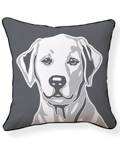 "Rue La La — Naked Decor ""Labrador"" Decorative Pillow"