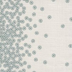 acetabularia stripe in pleagic from @nettle+fin #fabric #linen #cream #blue