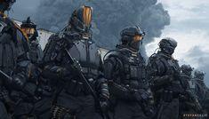 Futuristic Armour, Futuristic Art, Armor Concept, Weapon Concept Art, Science Fiction, Space Opera, Sci Fi Armor, Future Soldier, Cyberpunk Character