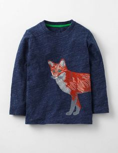 GYMBOREE FOX TRAILS FOX IN THE WOODS DOUBLE SLEEVE TEE 3 6 NWT