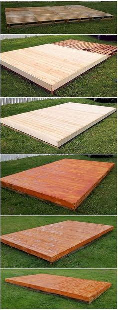 This has been tons magnificent and innovative wood pallet garden terrace design … - Pallet Diy Pallet Garden Furniture, Furniture Ideas, Affordable Furniture, Outdoor Furniture, Terrasse Design, Pallet Decking, Palette Diy, Backyard Projects, Pallet Projects