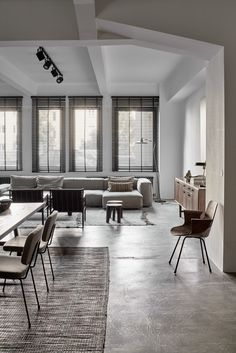 Bohemian luxury apartment in Vienna, contemporary rustic industrial interior design, loft design. Interior Concept, Design and Curation by Annabell Kutucu. Photography by Claus Brechenmacher