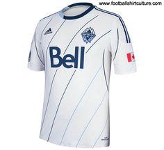 Vancouver Whitecaps 2013 Adidas Home Football Shirt  acd17a736