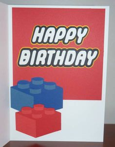 Photo frame prop tworrific birthday party event planning lego birthday card bookmarktalkfo Image collections