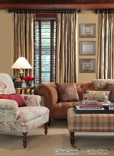 Fabrics, Window Treatments, Furniture, Bedding, Fabric by the Yard, Custom Decorating, Calico Corners � Calico Home.
