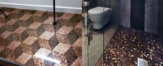 Discover cool tiling projects with the top 60 best penny floor design ideas. Explore industrial and nostalgic copper coin flooring inspiration. Best Bathroom Flooring, Home Gym Flooring, Foyer Flooring, Flooring Ideas, Penny Flooring, Garage Flooring, Epoxy Resin Flooring, Epoxy Floor, Concrete Floors
