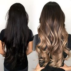 """Check out the newest color correction from Kimemily Pham (@kimwasabi). """"Yvonne was a first-time client,"""" shares Kim. """"She had previously gotten peekaboo caramel highlights, which she then used black box color to cover up.""""  Yvonne told Kim she wanted to be a lighter, dimensional blonde, suitable for a professional workplace. She also wanted to … Continued"""