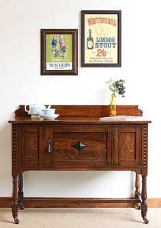 Fine Antique Sideboard Sophisticated Technologies Cabinets & Cupboards