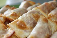 Wonton Wrapped Pizza Rolls
