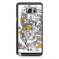 Foster The People Pumped Up Kicks Art TATUM-4374 Samsung Phonecase Cover Samsung Galaxy Note 2 Note 3 Note 4 Note 5 Note Edge