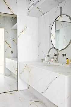 {gold and white marble}