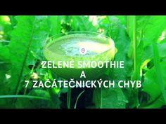 (6) 7 chyb při přípravě zeleného smoothie I Síla pro život - YouTube Drinks, Youtube, Food, Drinking, Beverages, Essen, Drink, Meals, Youtubers