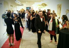 Art, Music and Dancing at Continuum's opening party at 522 Clematis #wpbarts