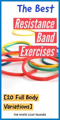 Can you build muscle with resistance bands? After reading this post you will learn the best resistance band exercises for men and women to develop a full body workout. We also go over which are the best bands you should get. Resistance Band Training, Best Resistance Bands, Resistance Workout, Resistance Band Exercises, Resistance Tube, Strength Training, Home Exercise Routines, At Home Workouts, Band Workouts