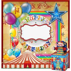 Teen girl graphics by label maker custom label designs birthday invitation big top by label maker stopboris Gallery