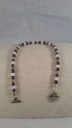Hey, I found this really awesome Etsy listing at https://www.etsy.com/listing/253871724/young-love-haematite-and-pink-lined