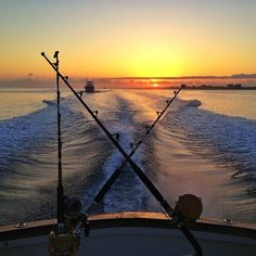 Offshore fishing on the Outer Banks of North Carolina.