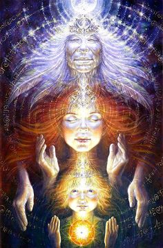 September Archetypal Activations of the Divine Feminine: Maiden, Mother, Crone by 13 Moon Oracle Priestess Sarah Uma