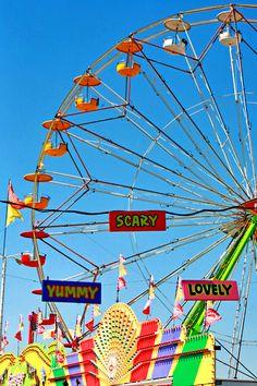 fair ride ferris wheel