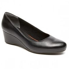 ROCKPORT TOTAL MOTION WEDGE BLACK