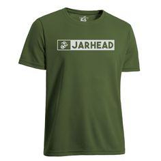 af9be2b7 Jarhead USMC Performance T-Shirt- Leatherneck for Life