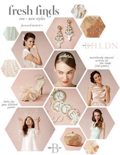 Amazing Magazine Layout Design Idea (64) This is a prefect layout for a womens bridal fashion. Even thought its got a light of white the pictures look natural and like gemstones or tiaras