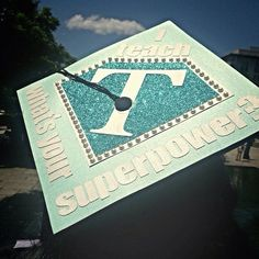 My teacher graduation cap for my commencement. Love it!!!! It was easy to find me in the crowd.