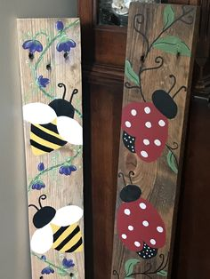 Wood Pallet Art, Pallet Painting, Pallet Crafts, Wooden Crafts, Painting On Wood, Wooden Welcome Signs, Diy Wood Signs, Painted Boards, Painted Wood Signs