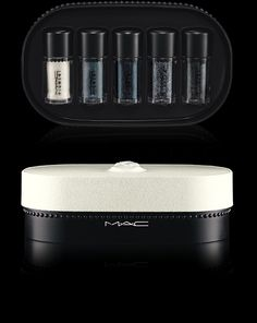Objects of Affection/Silver + Blue Pigments + Glitter  http://www.maccosmetics.com/product/13518/33347/New-Collections/Objects-of-Affection/Eyes/Objects-of-AffectionSilver-Blue-Pigments-Glitter/index.tmpl